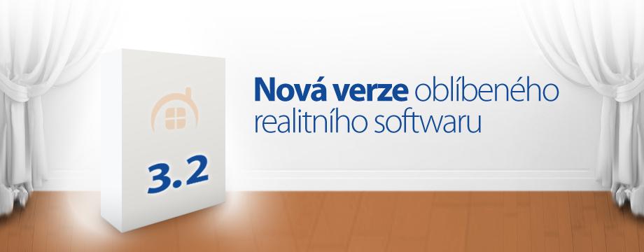 Realitní software verze 3.2